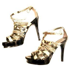New Guess Women Size 7 Leopard Heels